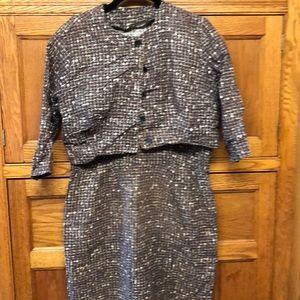 Vintage dress and jacket.